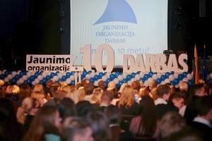 700 delegatų būryje buvo ir 15 jaunųjų širvintiškių, vadovaujamų JOD Širvintų skyriaus pirmininko Dovydo Bankausko.