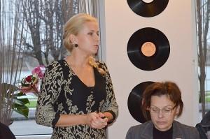 Darbo partijos (leiboristų) Širvintų skyriaus pirmininkė Ingrida Baltušytė-Četrauskienė perteikė Jaunimo organizacijos DARBAS (JOD) veiklos tikslus ir uždavinius, pristatė prioritetus bei skyriaus modelį.