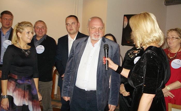 Širvintų skyriaus narius sveikino Darbo partijos pirmininkas Valentinas Mazuronis