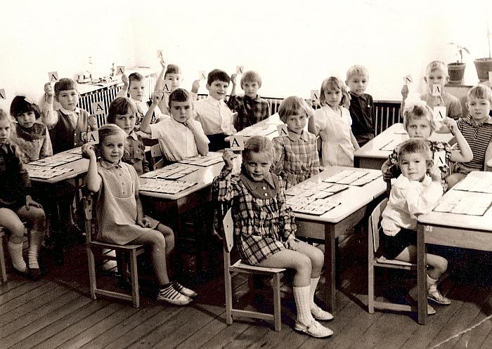 Parengiamoji mokyklai grupė. 1975-1976 m. m.
