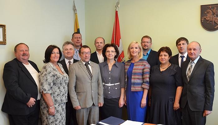 Rajono tarybos valdančioji dauguma apsisprendė dėl vicemero ir administracijos direktoriaus kandidatūrų.
