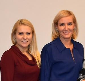 Savivaldybės administracijos direktorė Ingrida Baltušytė-Četrauskienė ir merė Živilė Pinskuvienė