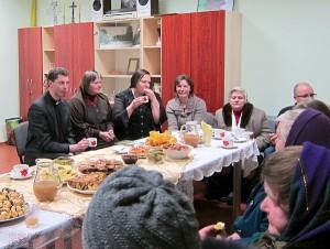 Susitikimas su kunigu Ričardu Doveika paliko didelį įspūdį tiek vyresnio, tiek jaunesnio amžiaus žmonėms.