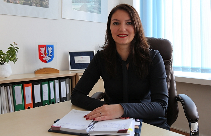 Investicijų skyriaus vedėja Dovilė Audėjūtė