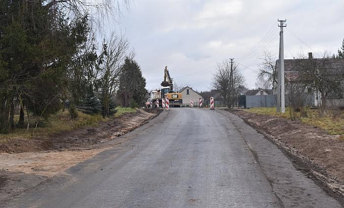 Baigiama asfaltuoti Družų gatvė