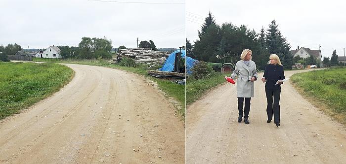 Rugsėjo pabaigoje merė Živilė Pinskuvienė su Administracijos direktore Ingrida Baltušyte-Četrauskiene apžiūrėjo vykdomus darbus, kurie dabar jau baigiami.