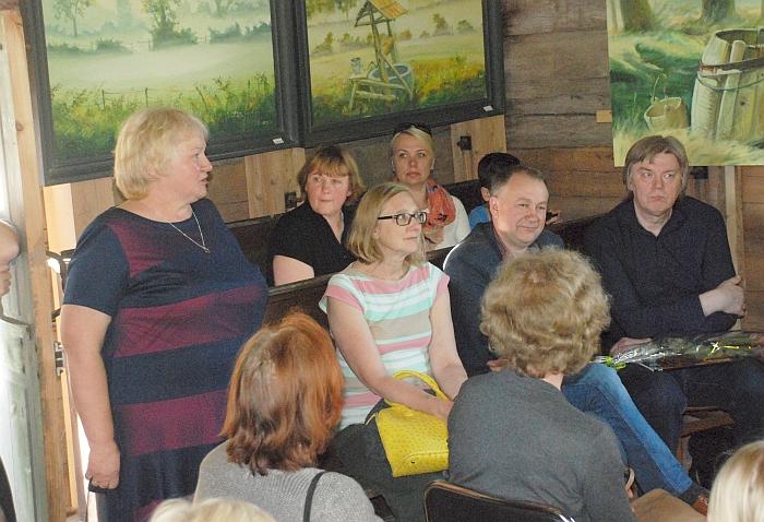 Musninkų seniūnė Birutė Jankauskienė pasidžiaugė, jog varpinė tapo mažu kultūros centru.