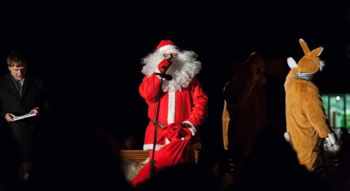 Kalėdų senio sveikinimas