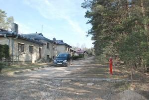 Kai kuriose Kernavės gatvėse buvo įrengti priešgaisriniai hidrantai.