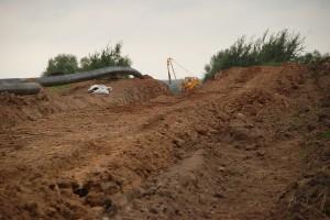 Gudulinės kaimo teritorijoje vykdomi privalomieji dujotiekio remonto darbai.