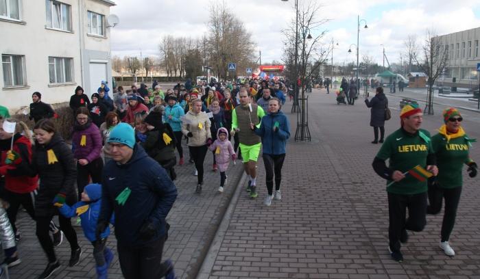 Šiais metais Pagarbos bėgime dalyvavo rekordinis skaičius bėgikų