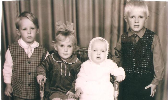 Didžiausias Krapų turtas - dorais žmonėmis užauginti keturi vaikai.