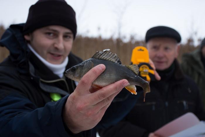 Taip atrodė Edvardo Geigalo sugauta žuvis.