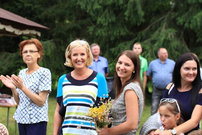 Šventėje apsilankė rajono merė Živilė Pinskuvienė.