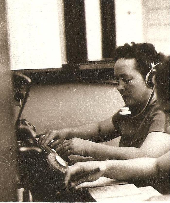 Netrukus po karo Širvintų pašte telefonininke pradėjo dirbti Janina Elena Jatkauskienė.