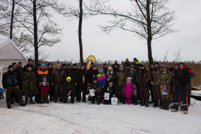 2019 m. vasario 2 d. Bendra nuotrauka prisiminimui ant Prienų ežero.
