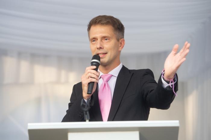 Renginio vedėjas Giedrius Masalskis
