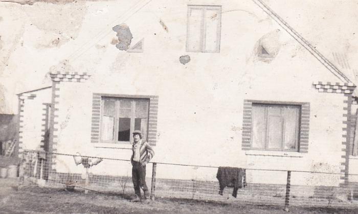 Družų kaimo gyventojas Romas Katinas.