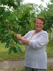 Janina Jankūnienė sakė, jog darbo prie namų visada atsiranda.