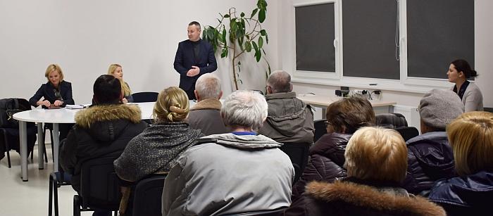 Susitikimas su Bartkuškio gyventojais daugiafunkciame centre