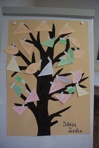 """Visų bendros mintys ir norai sukūrė spalvingą """"Idėjų medį"""", o bendra jėga žingsnis po žingsnio visa tai įgyvendins."""