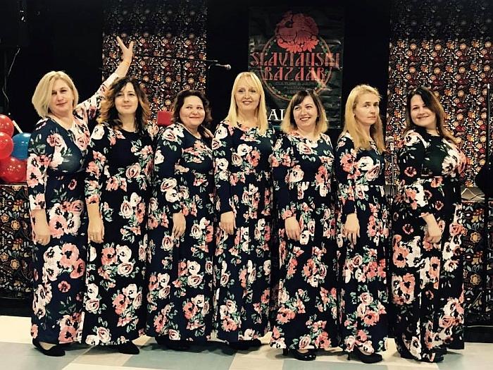 """Lietuvių ansamblis """"Svaja""""."""
