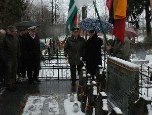 Musninkų kapinėse pagerbti už Lietuvos nepriklausomybę žuvę savanoriai.