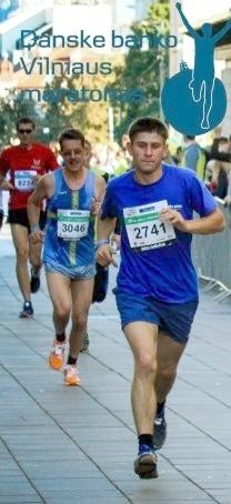 Vilniaus maratonas. Su 2741-uoju numeriu bėga Deividas Jeremičas