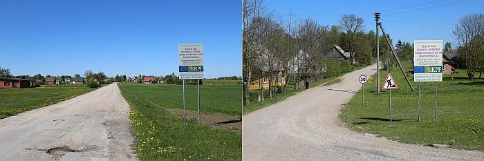 Rengiamasi pradėti asfaltavimo darbus keliuose Nr. 4323 Gelvonėliai - Pypliai 0,03-1-41 (per Šiaulių kaimą) ir Nr. 4326 Kiaukliai – Vaitkuškė 0,00-0,37