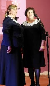 Mokytojų Jūratės Aniukštienės ir Reginos Janickienės duetas.