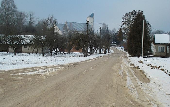 Rūpesčių neliktų, jeigu Kiaukliuose esanti Ramybės gatvė būtų išasfaltuota.