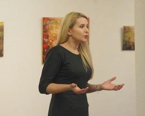 Širvintų rajono savivaldybės administracijos direktorė Ingrida Baltušytė-Četrauskienė skelbia Bibliotekų metų pradžią Širvintų rajone.