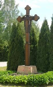 Kryžius Družų kaime.