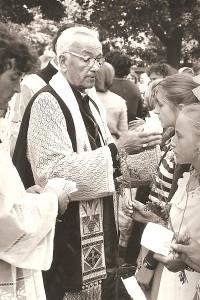 Kaišiadorių vyskupijos valdytojas, Kiauklių parapijos klebonas Juozapas Andrikonis.