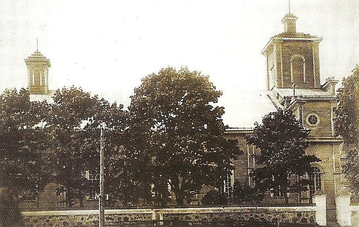 1941 metų birželį sudeginta Kiauklių bažnyčia.