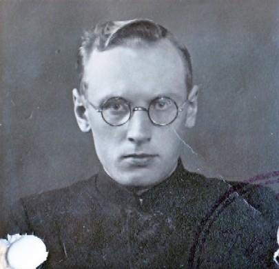 Liudvikas Puzonas. 1938 metai. (Lietuvos centrinis valstybės archyvas. Kaisiadoriumuziejus.lt)