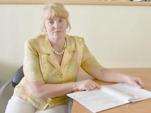 """Laikinai e. Čiobiškio pagrindinės mokyklos direktorės pareigas Palmira Kvietkauskienė: """"Kas pasiekta šiandien, tai visų mūsų didžiulis indėlis."""""""