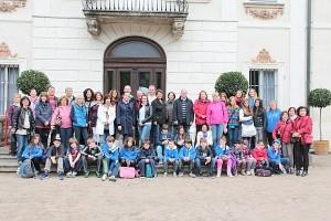 Projekto dalyviai Lenkijoje.