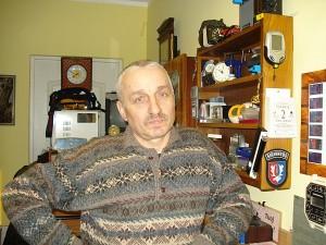 Leonas Mlečka daugiau nei trisdešimt metų taiso širvintiškių laikrodžius.
