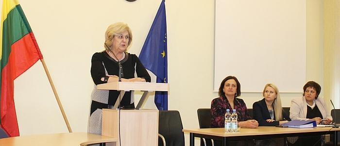 Pasak R. Šalaševičiūtės, sprendimus, susijusius su bendra įstaigų veikla, turės priimti steigėjas - Savivaldybės taryba.
