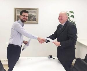 Sutartis pasirašyta