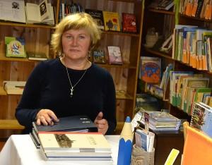 """Anciūnų bibliotekos bibliotekininkė Rita Makauskienė: """"Aš su didžiuliu noru ir meile prisidedu organizuojant Anciūnų kultūros namų, bendruomenės, seniūnijos šventes, susitikimus."""""""