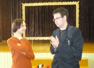 Širvintose apsilankė poetė, režisierė, aktorė Birutė Mar (Marcinkevičiūtė).