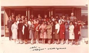 Širvintų 2-osios vidurinės mokyklos atidarymas. 1985 m.