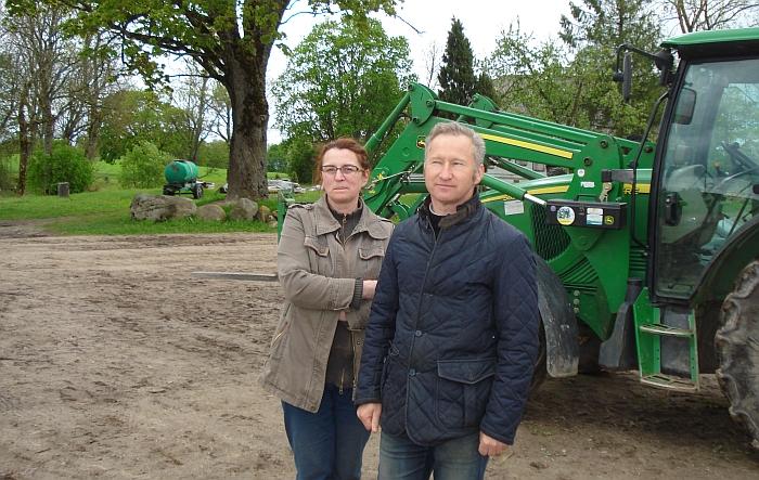"""Ūkininkai Kristina ir Arūnas Martinėliai siekia """"Demeter"""" sertifikato."""