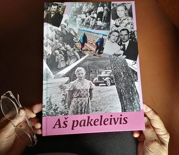 Veronikos Masiukienės knygos viršelis.