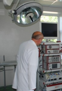 Dar praėjusių metų birželį chirurgijos skyriaus vedėjas R. Maskelis džiaugėsi nauju laparoskopu. Prabėgo geras pusmetis - ir nieko nebereikia...