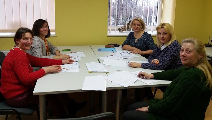3-4 klasių mokinių darbų vertinimo komisija.