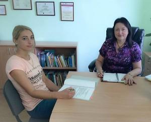 """Projekto """"Atrask save"""" veiklų aptarimas su Švietimo centro direktore Daiva Vinciūniene"""