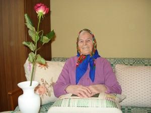 """Širvintose gyvenanti Mikalina Meškerevičiūtė: """"Linkiu visiems branginti savo metus, džiaugtis sveikata ir būti linksmiems.  Tik nuo Dievo priklauso ilgas ir gražus gyvenimas."""""""